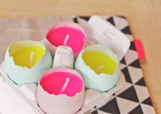 Huevos de Pascua hechos por ti. Un tutorial monísmo! | El tarro de ideas