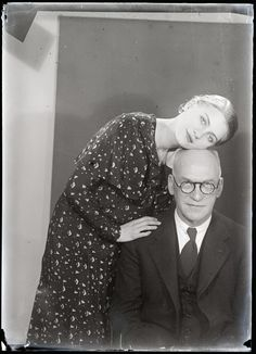 Lee Miller, Theodore Miller  (Lee Miller and her father)  1931