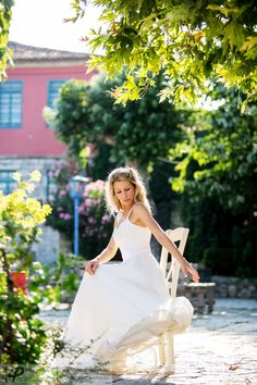 wedding dress by Anastasia Dosi
