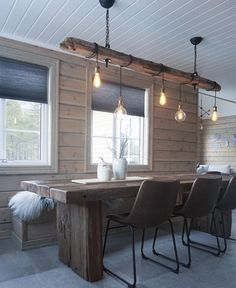 Sensible DIY home decor modification ref 4457724147 for a dazzling space. Stop by the list this instant. House Design, House, Cabin Decor, Cabin Interiors, Home Decor, House Interior, Cabin Design, Interior Design, Rustic House