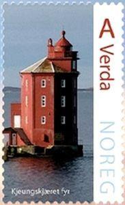 Kjeungskjær Lighthouse,1880