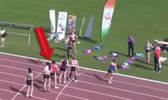No matter whether you are a sports fan or not, this will probably make your day because this is one of those footage that get caught once in a lifetime.  The most incredible race comeback you will ever see! Just keep an eye on how far behind the girl in the red is when the leaders take off and... http://www.kickvick.com/best-race-comeback/