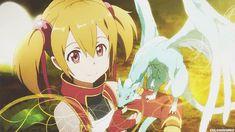 Gif - Sword art online/SAO - Silica - Pina - Liz/Lisbeth - Sashi/Sachi
