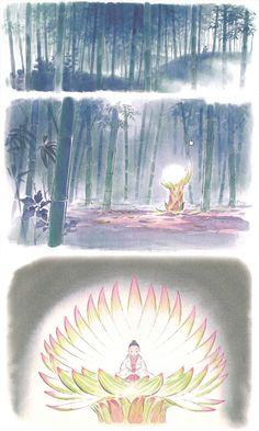 Kaguya-hime no Monogatari by Studio Ghibli. Le Conte de la Princesse Kaguya ~ Kaguya hime no Monogatari by Isao Takahata (studio Ghibli)