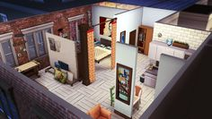 femmeonamissionsims — 17 Culpepper Studio: CC-free Apartment This...
