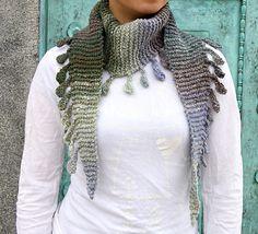 Free #Pattern #scarf: Shizuku by Angela Tong
