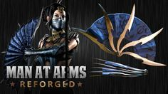 Kitana's War Fans (Mortal Kombat X)- MAN AT ARMS: REFORGED