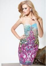 Terani Prom Fitted Dress, its interesting