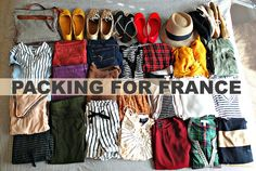 Packing For France: Carry on, Personal,