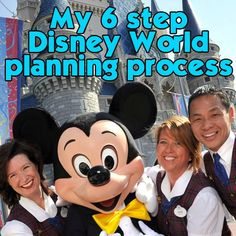 Soo important. Good start to planning your first trip. Details of my 6 step Disney World planning process Disney Honeymoon, Disney Vacation Planning, Disney World Planning, Disney World Vacation, Disney World Resorts, Disney Vacations, Disney Parks, Walt Disney World, Trip Planning