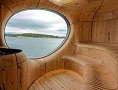 Grotto Sauna by Partisans (11) / Get started on liberating your interior design at Decoraid (decoraid.com)