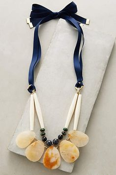 Zerlina Bib Necklace - #anthrofave