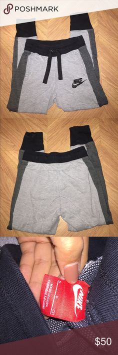 women's nike joggers excellent condition. fits kinda small Nike Pants Track Pants & Joggers
