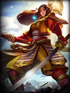 Smite - Standard Amaterasu Card♢ #Video_Games #Gamer #Game