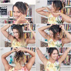 juliana goes | all things hair | penteado fácil | coque despojado | pentesdo festa | penteado fim de ano | dica de penteado | vídeo de penteado | coque | como fazer coque