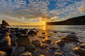 Amazing sunset on the Isle of Skye - 91956653