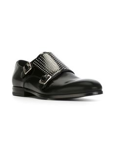 Alexander McQueen buckled monk shoes - #Zapatos #Shoes #Footwear #Chaussures #Scarpe #Pantolfi