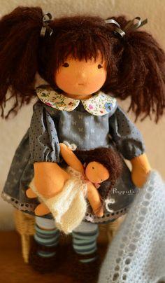 Nina, 12 inch custom doll