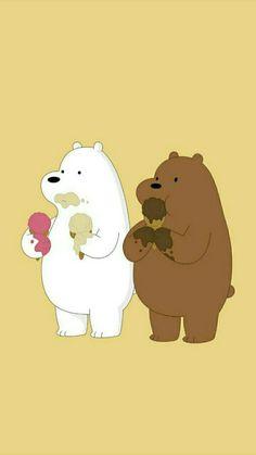 We Bare Bears Wallpapers, Panda Wallpapers, Cute Cartoon Wallpapers, Ice Bear We Bare Bears, We Bear, Cute Panda Wallpaper, Bear Wallpaper, Disney Drawings, Cute Drawings