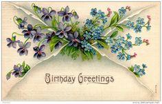Ansichtskarten > Motive > Feiern & Feste > Geburtstag - Delcampe.net