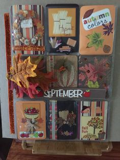 Fall Pocket Letter by Sue Harris