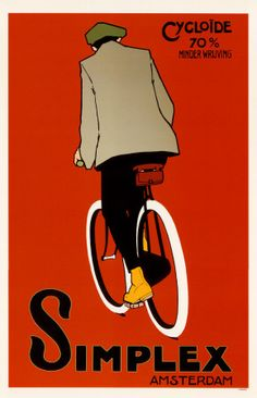Dutch cycling poster