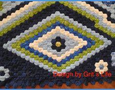 """Grit's Life: 11.Teil Hexagonquilt """"La Passion"""""""