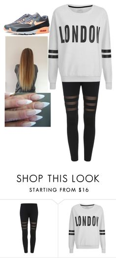 """"""""""" by ivana-milovanovic ❤ liked on Polyvore featuring ONLY and NIKE"""