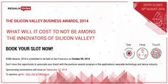 Presenting the Silicon Valley Business Awards 2014. To sponsor, click here - http://bit.ly/SBVASpon