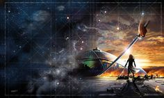 SCI FI HH honor_harrington_flag_in_exile_by_genkkis-d2mty9d