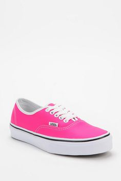 Vans Authentic Neon Leather Sneaker #urbanoutfitters
