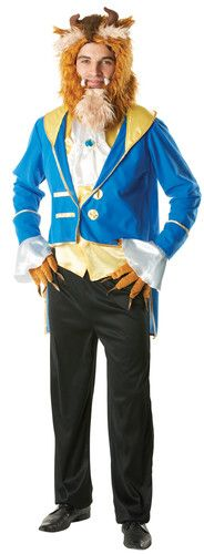 NEW! Beauty and the BEAST PRINCE Halloween ADULT MENS COSTUME M DISNEY | eBay