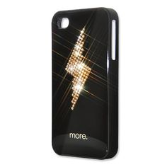 beautiful phone case customised with swarovski crystals- we can do any design you require!