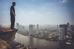 Bangkok - Ghost Tower (rond 17:00 uur)