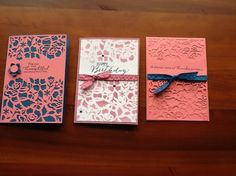 Floral phrases cards