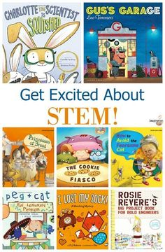 8 Fascinating STEM Picture Books | Imagination Soup
