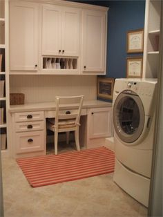 Laundry/Crafty room. I like the idea of the two combining to save space.