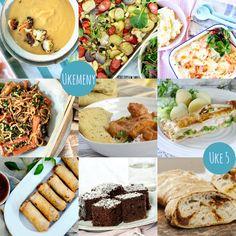 Ukemeny for uke 5 Mexican, Ethnic Recipes, Food, Meals, Yemek, Eten
