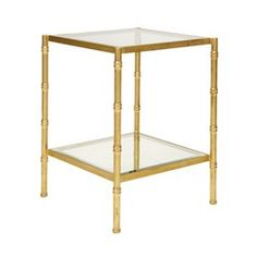 Serena Side Table #worldsaway #design #interiors #homedecor #interiorhomescapes #interiorhomescapes.com