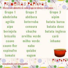 Grupos das Primeiras Papinhas