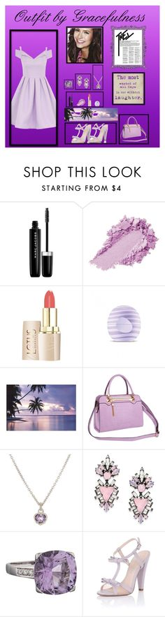 """""""Pulchritudinous Purple"""" by gracefulness13 on Polyvore featuring Marc Jacobs, Eos, Relaxfeel, Judith Ripka, Erickson Beamon, Mauboussin, Paper Dolls and Chi Chi"""