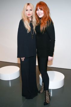 See who's sitting front row at New York Fashion Week: Rachel Zoe and Charlotte Tilbury