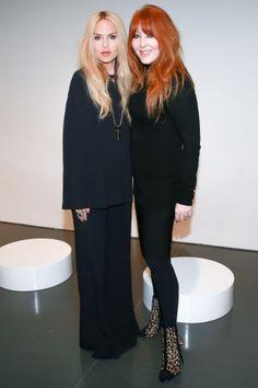 See who's sitting front row at New York Fashion Week: Rachel Zoe and Charlotte Tilbury Pinterest: KarinaCamerino