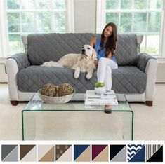 The Best Couch Covers for Pets Review - Rescue Best Best Couch Covers, Best Sofa, Sofa Covers, Furniture Slipcovers, Furniture Covers, Fabric Covered Furniture, Victorian Sofa, Cool Couches, Sofa Protector