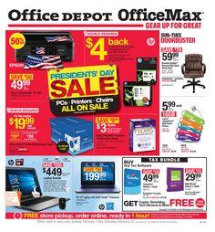 Office Depot  Officemax Ad September   October    Http