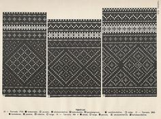 Estonian sock patterns