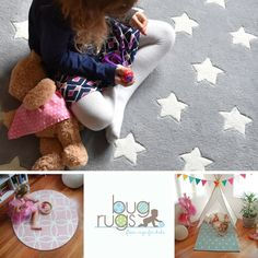 'Tis the silly season and all kids rugs are 20-75% off! Use code BEMERRY to save 20% off full price rugs through 20/12/2016.    Find the perfect children's rug for your little love bug!  All our lovely floor rugs are made with a super durable and plush construction that can handle rough & tumble play for years to come.  Our rugs are designed just for children and are loved by kiddies and parents alike.  Perfect for baby's nurseries, child's bedrooms and playrooms.  Find the one you love…