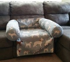 DIY dog couch cover