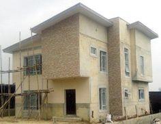 4 Terrace Units under construction (Pearl Nuga Park Estate, Sangotedo)