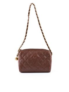Chanel Quilted Camera Bag.
